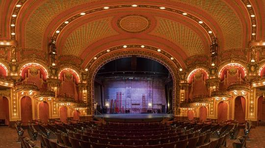 emerson theatre interior view of the stage